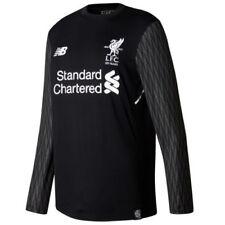 Camisetas de fútbol negro porteros