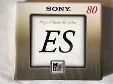 Original SONY ES MDW80M Digital Audio MiniDisc MD 80min. OVP! Rarität!