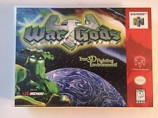 War Gods - Nintendo 64 - Replacement Case - No Game