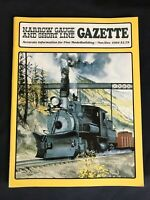 Narrow Gauge and Short Line Gazette November December 1984
