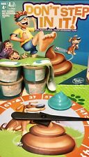 Dont Step In It Poop Dodging Fun Game Hasbro New 4+