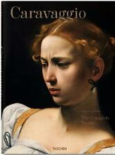 CARAVAGGIO ~ COMPLETE WORKS ~ GIANT TASCHEN SLIPCASED HC ~ COMES WITH BOOKSTAND!