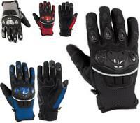 Handschuhe Textil Motorrad Knoechel Schutz Sommer Racing MotoCross Quad MX
