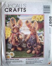 "16"" Stuffed dressed bunny rabbit Sweet Spring thyme decor  pattern 8087 Unused"