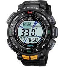 CASIO Pro-Trek Series Watch Black Tough Solar Power PAG240-1