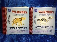 Swarovski Color Price Guides - 2010/2011 Warner's Blue Ribbon Book Set