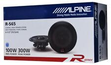 """Alpine R-S65 6.5"""" Car Speakers / 6-1/2"""" Car Audio Speaker Type R Series"""