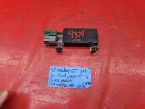 89 MUSTANG GT DASH CHIME RELAY CONTROL MODULE BOX CANADA E7ZF-10E850-AA OEM LOOK