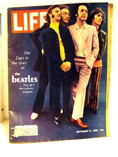 1968 LIFE MAGAZINE - THE DAYS IN THE LIVES OF THE BEATLES – BIOGRAPHY