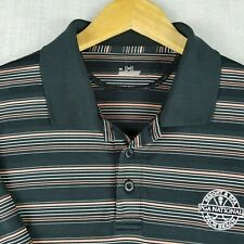 UNDER ARMOUR Large Mens Golf Casual Polo Shirt Short Sleeve Stretch EUC Size L