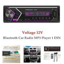 12V Car Bluetooth Stereo FM Aux Karte USB MP3 Radio Player Wireless Handsfree