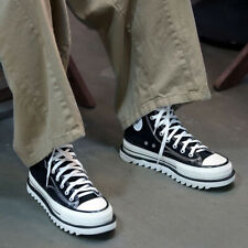 Byther Mens Women Shark Sole CanvasHhigh-Top Sneakers Brand Shop Shoes Height