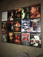 🔥15 Horror Dvd Lot Exorcism 6th Sense Bug Joy Ride Grudge Signs Hostel Descent