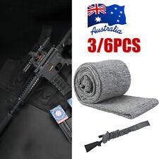 "6X Heavy Duty Gun Sock Silicone Treated 52"" Rifle Shotgun Protection Bag Case Z"