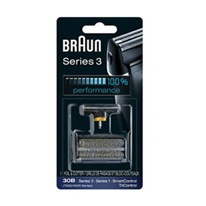 Braun Series 3 30B Foil & Cutter Replacement Head 7000/4000 Shaver TriControl
