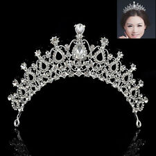 Charm Wedding Bridal Crystal Rhinestone Hair Headband Crown Prom Pageant Tiaras