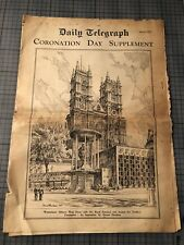 The Daily Telegraph CORONATION DAY SUPPLEMENT June 2 1953 Queen Elizabeth Royals