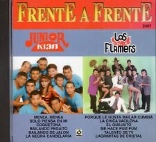 Junior Klan y Los Flamers Frente a Frente CD No Plastic Seal