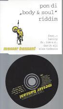 CD---MESSER BANZANI--PON DI BODY & SOUL RIDDIM