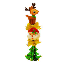 Christmas Non-woven Fabric Felt Applique Kit for Car Hanging Ornaments Gift