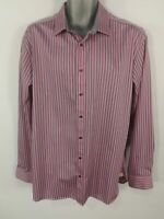 MENS LEVI'S BLUE CHECK BUTTON UP LONG SLEEVE SMART CASUAL SHIRT SIZE XL X LARGE