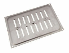 *Pack Of 5 Stainless Steel Hit And Miss Louvre Vent Ventilation Cover 9 X 6 Inch