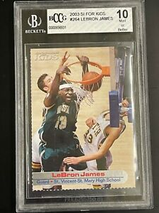 2003 SI For Kids Lebron James BCCG 10 Mint