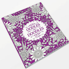 A4 64 page Adult Colouring Book - The Purple One