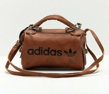 Adidas Original Arch Bag PU Leather Faux Vintage SlingbagBrown Archived Limited