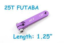 "1pc 1.25"" Heavy Duty Aluminum 25T Futaba/Savox Servo Arm, US TH007-03806"