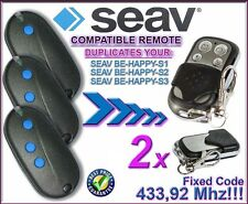 2 X S1 SEAV ser feliz, ser feliz S2, feliz S3 compatible con controles remotos/clones