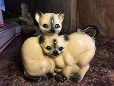 Vintage Siamese Cats Figurine Statue