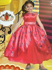 Disney Elena Princess Avalor Deluxe Costume Dress Up Tiara 4 5 6 Small fun gift!