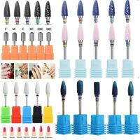 Carbide Rotary Nail Drill Bit with Smooth Round Top For Nail Art Salon Manicure