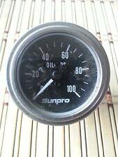 SUNPRO OIL PRESSURE GAUGE 0 TO 100