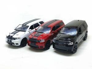 1:32 JKM Dodge Durango SRT Diecast Metal Car Model Toys Kids Boys Gilrs Gifts