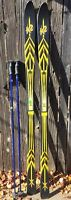 Vintage NEW K2 Series X14 Skis W/ Smart Ski Tech 175cm NEVER DRILLED Blk/Yellow