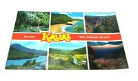 Vintage Hawaii Kauai Scienic Souvenir laminated Placemat