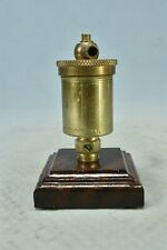 Antique Pat 2 5 1899 American Injector Co Polisherd Brass Grease Cup Part 02313