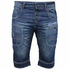 Polyester Denim Big & Tall Shorts for Men