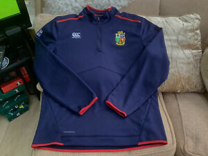 Canterbury British Lions 2021 1/4 Zip Fleece Size 3XL Worn Once Great Condition
