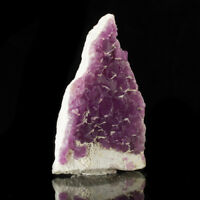 """4.6"""" RedViolet FLUORITE SharpOctahedral Crystals w/WhiteFrosting Mexico for sale"""