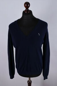 Acne Action Jeans V Neck Classic Jumper Size S