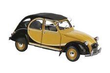 """Solido Citroen 2CV """"Charleston"""" Baujahr 1982 gelb schwarz, 1:18 Art. 118351"""