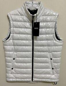 Hugo Boss Men's Cilla Water-Repellent Padded Gilet Vest
