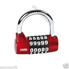 Padlock lock combination lock resettable lock idea for sheds cycles boats bikes