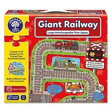 Orchard Toys Giant Railway Floor Puzzle  NEW & FAST