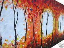 Huge  original Art Painting  240cm red yellow black blue by Jane COA