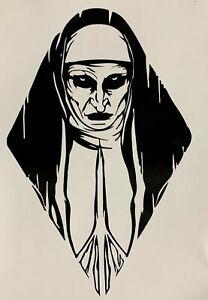 The Nun Vinyl Decal