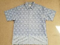 North Face A5 Vintage Retro Summer Short Sleeve Shirt Cool Pattern Size X-Large
